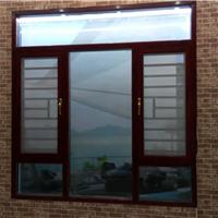 供应100弧形平开窗:100窗纱一体 金悦门窗