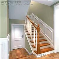 厂家供应实木楼梯各种楼梯围栏楼梯栏杆