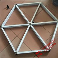 蛋挞铝管格栅,吊顶材料铝格栅,铝方格栅吊顶龙骨