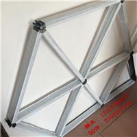 网吧吊顶铝格栅,建材吊顶铝管格栅,铝合金空腹格栅吊顶间距