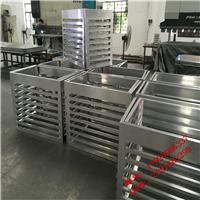 合肥铝合金百叶格栅,烤漆铝型材格栅,铝合金空腹格栅吊顶厂家
