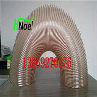 透明pu伸缩管耐磨耐老化易弯曲钢丝伸缩管