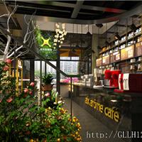 成都咖啡厅装修公司-埃克斯咖啡