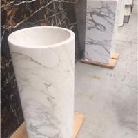 供应意大利石材洗手盆石材雕刻石材工艺品