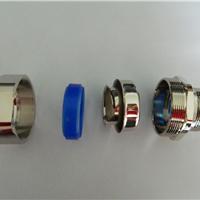 供应铜镀镍金属连接器 六方螺母外牙铜接头
