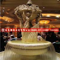 腾磊石材供应石雕花盆石雕喷泉定制价格