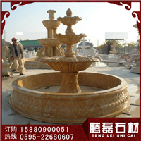 供应雕水钵石雕动物喷泉石雕喷泉现货水钵