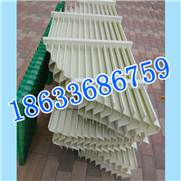 PP材质耐高温150-30折流板除雾器多钱一平