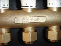 供应恒尔暖双手轮整体锻造分集水器