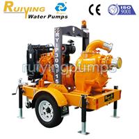 移动自吸泵车,防汛排水拖车式移动泵站