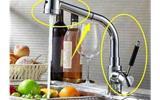 你家厨房还在装传统的水龙头吗?现在流行这样装了,用了都说好-厨房水龙头花洒