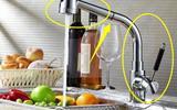 越来越多人厨房装这种水龙头,老师傅看了都说好,太实用了-厨房水龙头花洒
