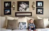 60个照片墙布置方案 记录浪漫时刻-照片墙布置图片