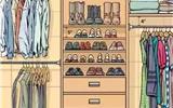 这样的衣柜格局,绝对让你省心、省事!-衣柜格局图片