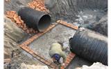 临沂市两个工地向排水管网偷排泥浆 城管立案处罚-排水管网