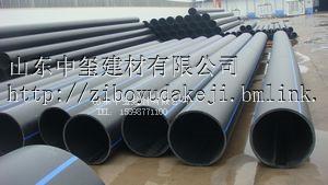 山东大量现货供应PE给水管-山东中玺建材