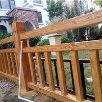 水泥仿木栏杆、花箱、葡萄架