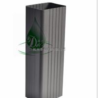 供应乐安县铝合金方形雨水管雨水槽檐沟定做