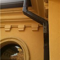 供应别墅彩铝雨水槽方管
