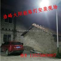 望城锂电池太阳能路灯厂家 技术指导 湖南浩峰 18年品质保证