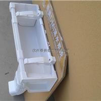 pvc矩形排水管屋面方形雨落水管落水管厂家
