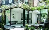 阳光房改造,如何取代传统折叠门?-阳光房