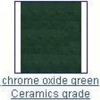 供应陶瓷级氧化铬绿