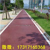 生态透水混凝土人行道应用