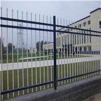 供应丹东蓝白锌钢护栏  绿色公园草坪护栏