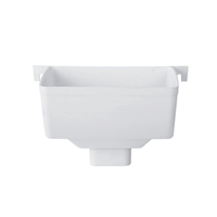 供应别墅树脂檐槽排水系统