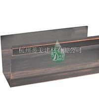 供应齐河县铝合金成品天沟屋顶接水槽定制