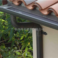 供应永丰县方形雨水管铝合金成品檐口沟槽