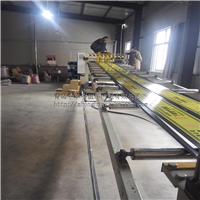 供应PE昆仑燃气警示板生产线 燃气保护板