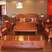 供应财源滚滚沙发东阳木雕工艺红木家具大全