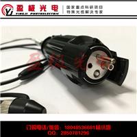 供应2芯野战光缆快速连接器 转接头
