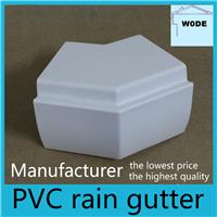 供应别墅屋面塑料檐槽落水系统