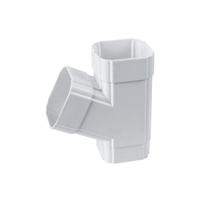 供应别墅屋檐塑料方管排水系统