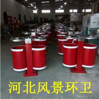 厂家直销钢板垃圾桶 道路 户外 市政