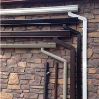供应别墅金属接水槽排水系统