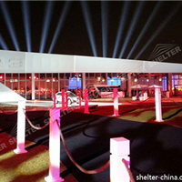 多种规格南京车展篷房租赁丨赛尔特篷房