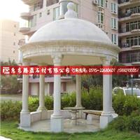 石雕亭子欧式花园亭子定制仿古石亭子雕塑