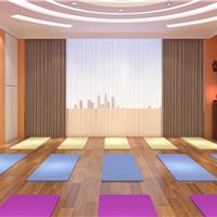 泰式瑜伽房搭配橡木复合地板效果图