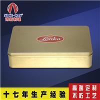 供应厂家定做 方形高档创意中秋铁盒包装