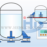 供应料罐电子称重控制工业电子秤功能应用
