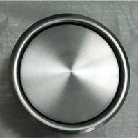 不锈钢圆形翻盖式垃圾桶装饰盖、嵌入式安装