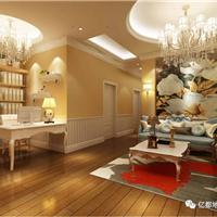 欧式风格美容院实木复合地板安装