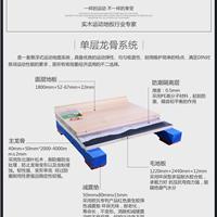 室内运动型木地板 体育馆运动地板生产安装