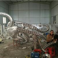 厂家直销  章鱼卡通形象景观装饰 公园雕塑