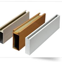 供应墙体装饰格栅木纹型材铝方通