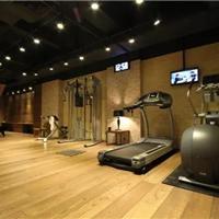 健身房实木地板工程定制